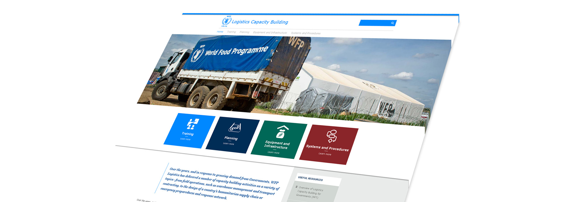 ClickseeDesign Portfolio: United Nations World Food Programme