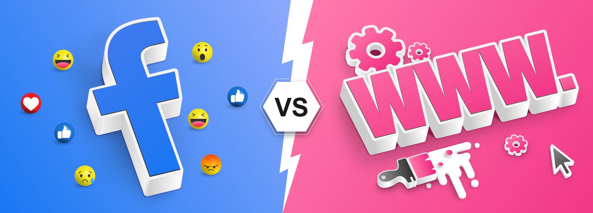 Websites v. Facebook: Do you need a website these days?
